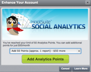 Hootsuite Analytics Pricing