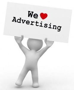 We love advertising